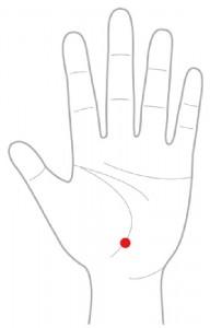 ツボ12胃腸点(いちょうてん)