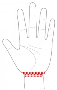 ツボ53生殖器(手の平)