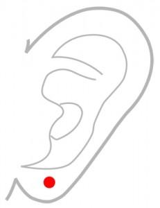 ツボ162翳風(えいふう)